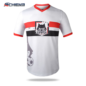 Custom Sublimation printing football jerseys,team / club soccer jerseys