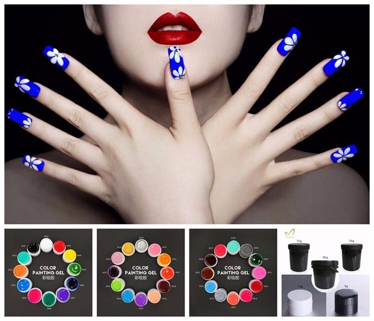 Nail Polish Uv Gel Nail Polish Uv Gel Nail Extension Kit - Buy Nail ...
