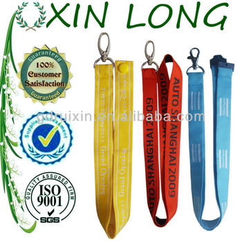 multicolor lanyards badge reel for promotion