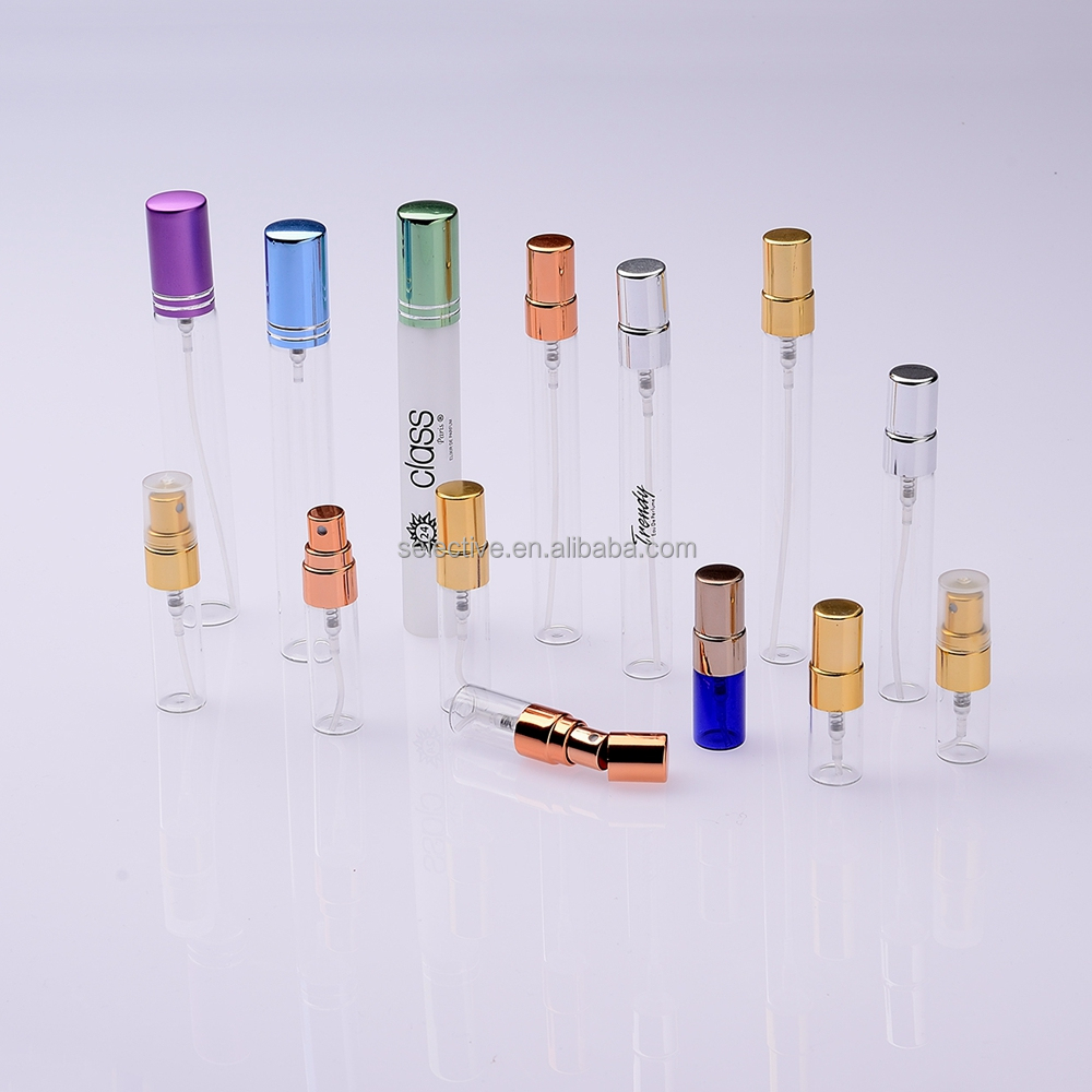 vial glass perfume bottle 2ml 3ml 5ml 8ml 10ml 12ml 15ml 20ml perfume sprayer small empty perfume bottles