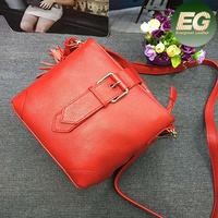 Customized speical genuine leather handbag women popular bags factory price hand bags EMG4684