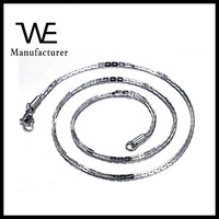 Aliexpress Amazon Accessories Wholesale Men Stainless Steel Neck Chain Jewelry