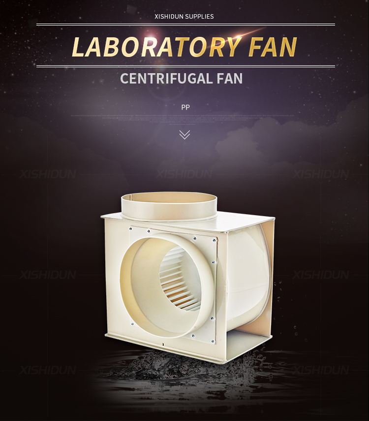 9104 Lab Fume Hood Plastic Ventilation Exhaust Fan