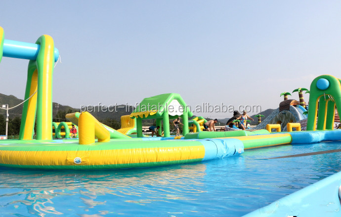 large adult outdoor water toys for sale inflatable commercial water park inflatable sports games