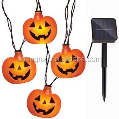 solar halloween pumpkin light solar halloween pumpkin light suppliers and manufacturers at alibabacom - Halloween Pumpkin Lights