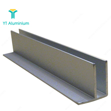 Aluminium Industri F Pofiles F Channel Molding Trim <span class=keywords><strong>Profil</strong></span> untuk Kaca