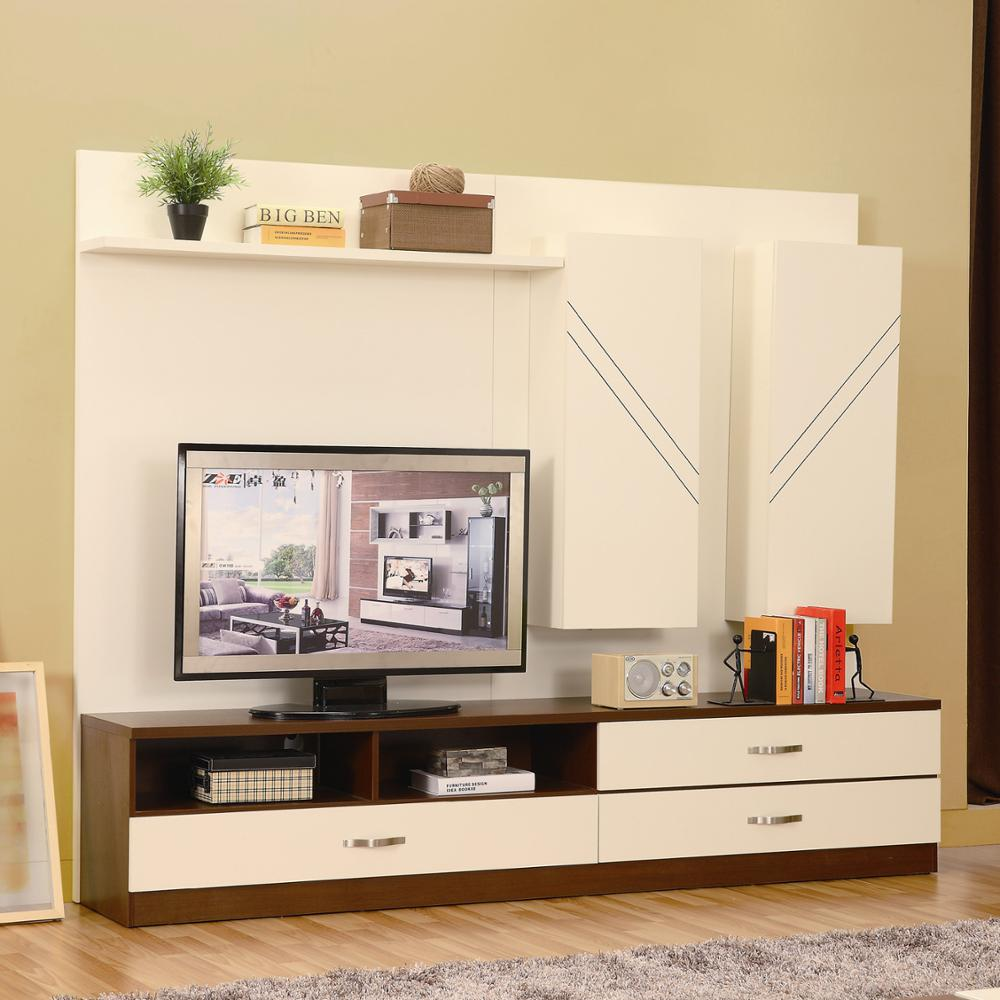 New Model Tv Cabinet With Showcast Modern Living Room Furniture Unit Design Set