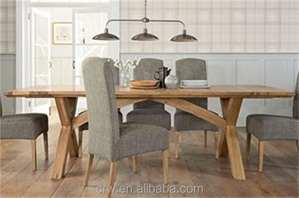 Dt 4099 long solid wood cross leg dining table buy cross leg dt 4099 long solid wood cross leg dining table watchthetrailerfo