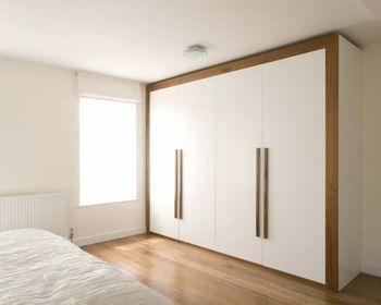 Por White Wooden Bedroom Wall Cabinet Throughout Storage Cabinets Wardrobe