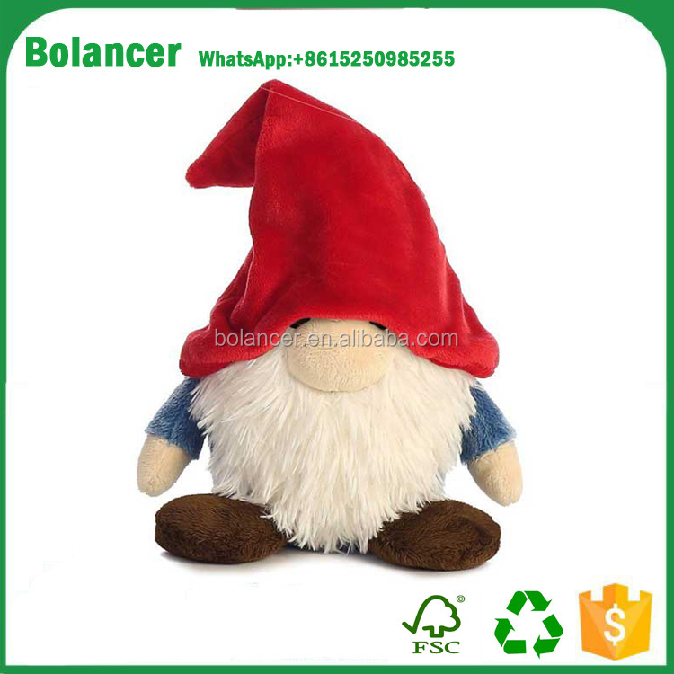 Bolancer top selling custom size gnome fabric christmas soft plush toys