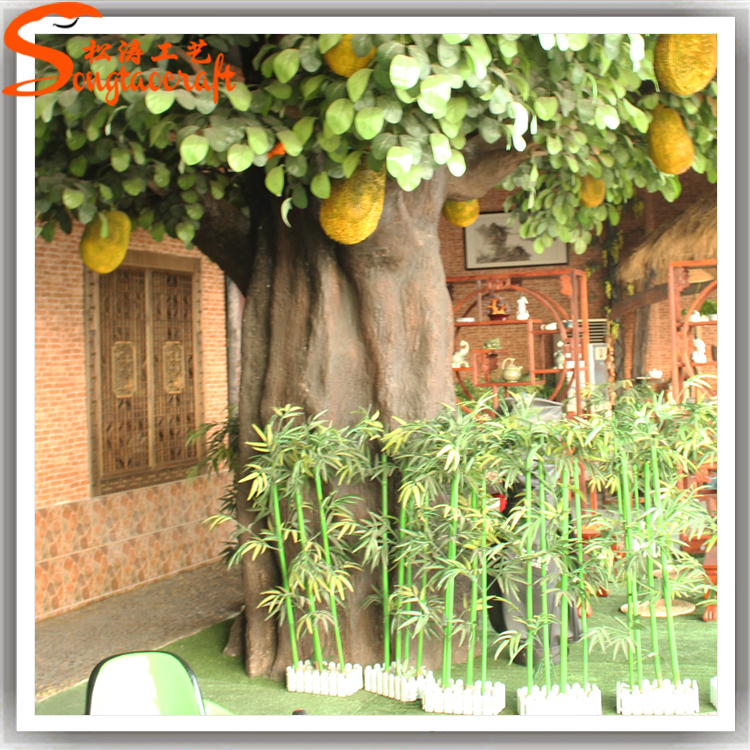China Factory Large Indoor Decorative Artificial Fake Plastic ...