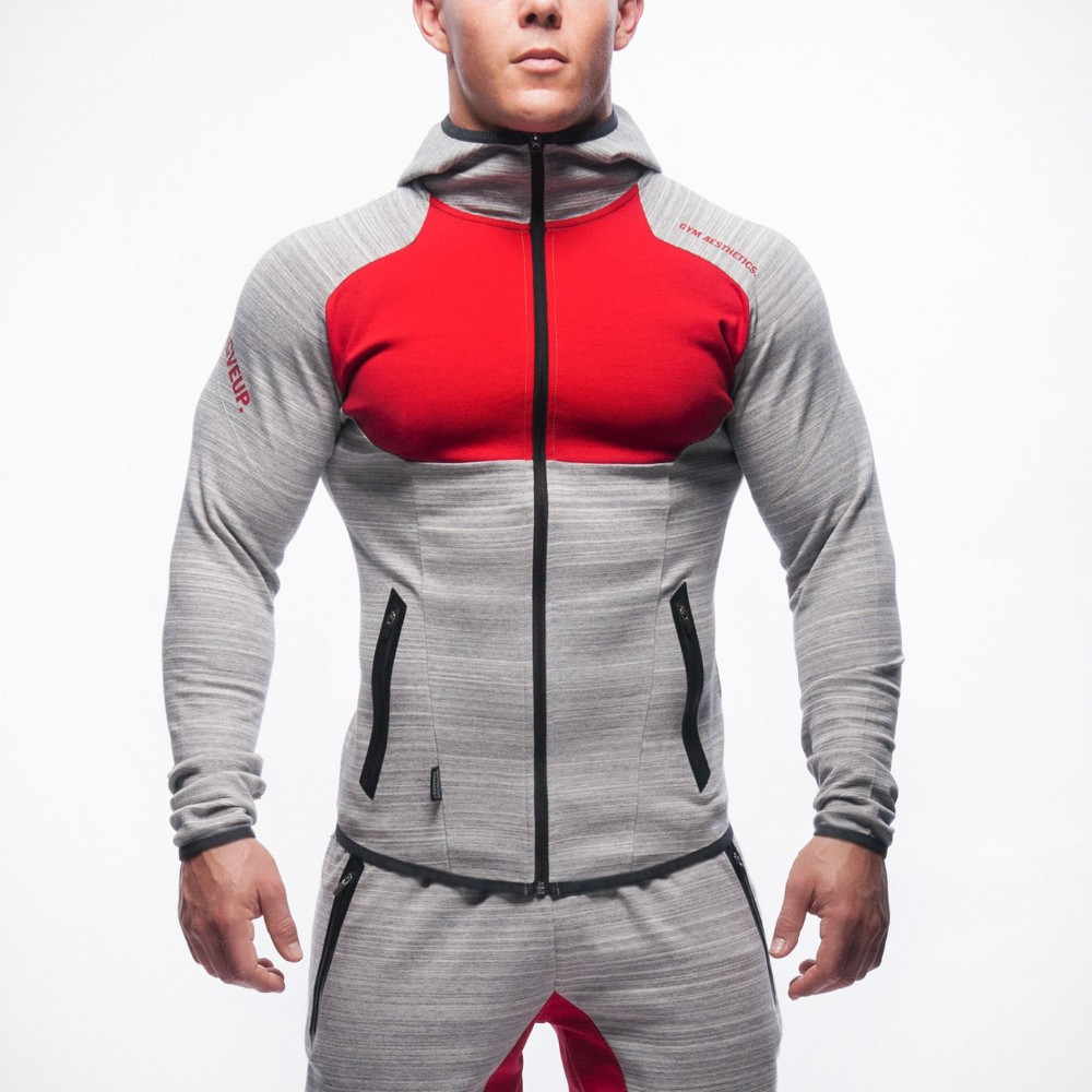 2019 2019 Mens Bodybuilding Hoodies Gym Workout Shirts Hooded Sport Suits Tracksuit Men Chandal Hombre Gorilla Wear Animal Wholesale From Jiufen1,