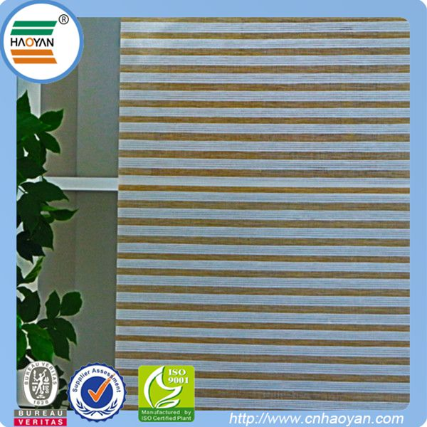 Natural woven paper decorative fabric roller blinds