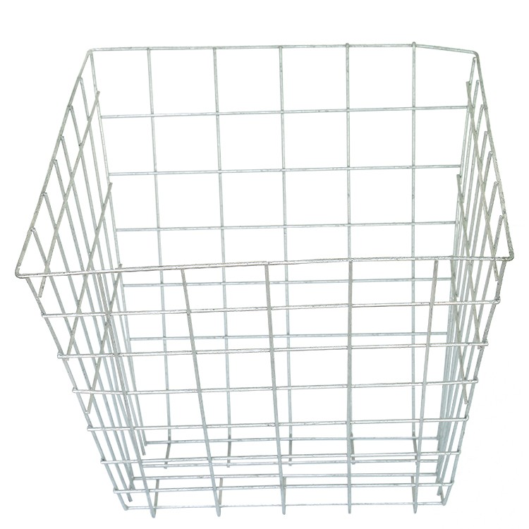 Galvanized wire welded dry leaves composter bin