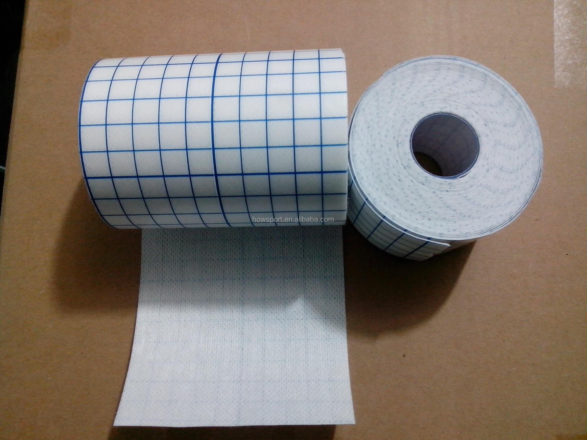 New Product Surgical Non Woven Adhesive Medical Dressing Tape Fixation roll white non-woven fixing roll