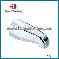 East Plumbing Brass Top Shower Adapter Diverter bath spout