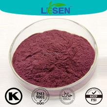 Red Phycoerythrin powder extracted from red algae (Rhodophyta) Porphyridium cruentum extract