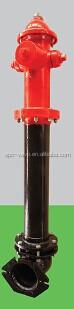 250PSI FM certified dry bucket underground fire hydrant AWWA C502 pump inner diameter 114mm mechanical joint