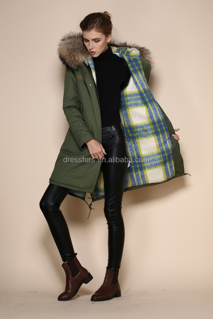 f7d25826b8d3 Pretty Green Parka Sale Winter Canada Womens Green Parka M002-06 .