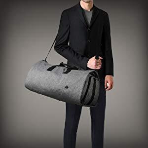 2019 new design travel nylon garment bag with Long shoulder strap