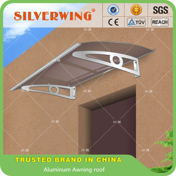 Merveilleux EURO Design Clear Rain Protection Front Door Aluminum Awning Canopy Roof  Item No YY100140K