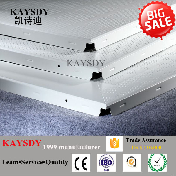 2016 hot sale art aluminum false perforated ceiling panel600x600,Galvaume ceiling