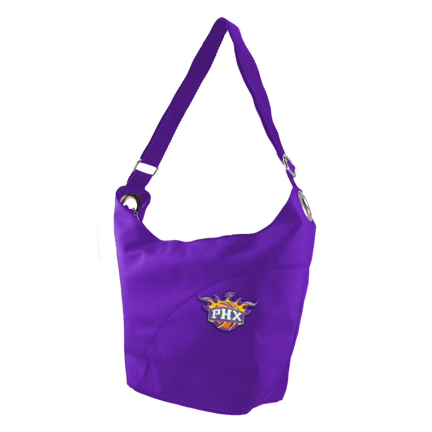 Get Quotations · NBA Phoenix Suns Women s Colo Sheen Hobo Purse, Purple 8a7dc9f52a