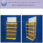 Firm metal market stand commodity food retail display shelf HS-ZS01