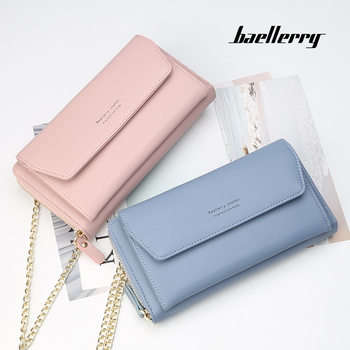 1d181244f7ac Baellerry 2018 New Design Woman Wallet Hot Sale Factory Chain Wallet ...