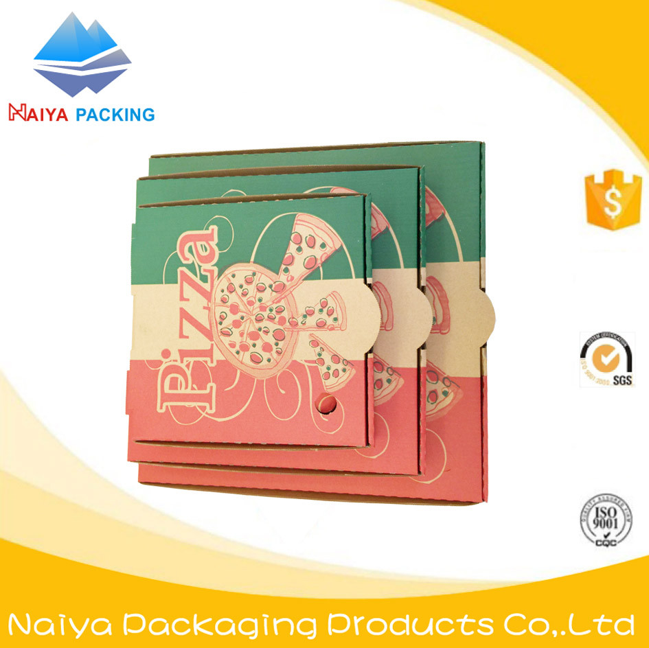 cheap pizza paper box with customized logo