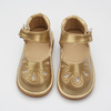 Wholesale Kids Leather Material And Rubber Sole Baby Child Squeaky Shoes