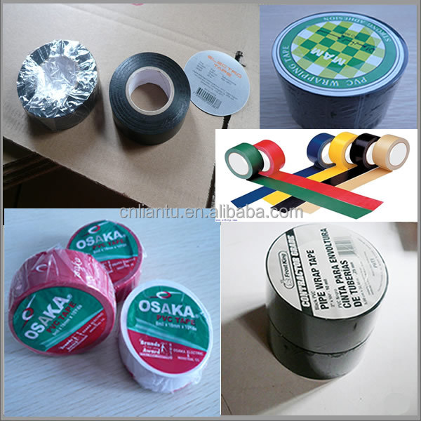 REACH and BS EN60454 certified PVC Insulation tapes in most standard colours