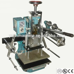 Hand Operation Aluminum Foil Printing Machine Embosser