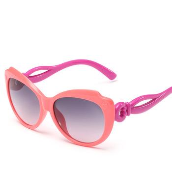 3a3cc3f81a3726 Mode Leuke Jongens Meisjes Liefde Hart Zonnebril Anti-UV400 Baby zonwering  Brillen Kids Sunglass Kinderen
