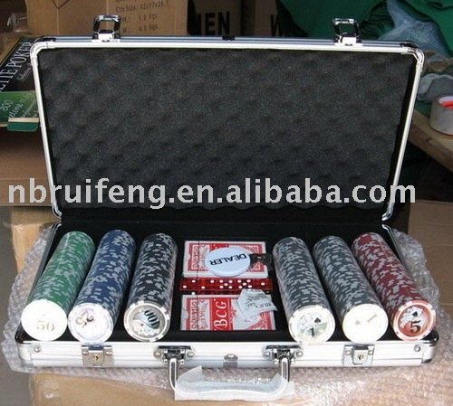 11.5g Texas Holdem Poker Chip Set 300 Chips