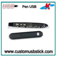 Business style record usb pen drive 2.0 8 GB