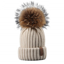 2018 Leuke <span class=keywords><strong>baby</strong></span> kids bont pom hoed <span class=keywords><strong>beanie</strong></span> kasjmier hoed met bont pom pom