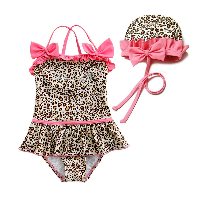 0f35cce194859 Get Quotations · Hot Sale 2015 New Summer Style Designer Baby Girls Swimwear  Cute Skirt Bathing Suit Fashion Leopard