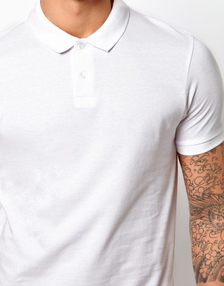 707ac70726246 wholesales 2 pack slim fit plain white pique blank polo t-shirts for ...