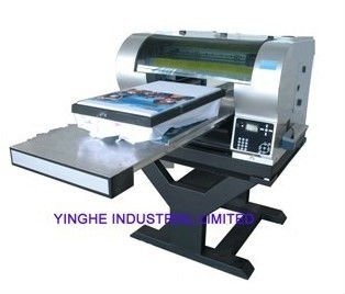 A2 size digital dtg t-shirt printer with white ink