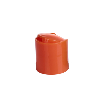 Brown plastic lid cap for skin care cream
