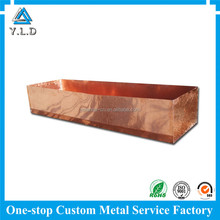 One-stop Fully Equipped Custom Copper Plating Sheet Metal Fabrication For Plant