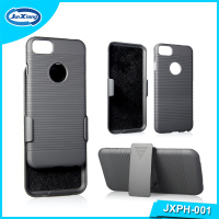 New Model Hard PC Case, Belt Clip Holster shell kickstand Plastic Case Cover for iPhone 7