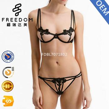 Sexy strappy bra