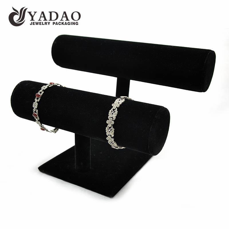 Double Bangle//Bracelet Jewellery display Stand Black