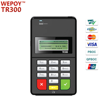 EMV PCI Mobile bluetooth smart card reader with keyboard