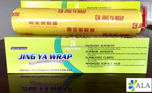 supermarket size food grade hand stretch food film/cling wrap 35cm