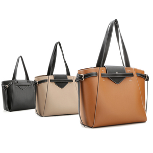 D-18015 2019 Myanmar own factory made fancy women fashion elegance pu leather tote bag brand lady handbag