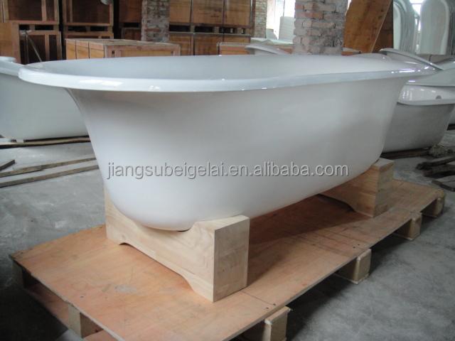 Freestanding Cast Iron Portable Whirlpool Bathtub For ...