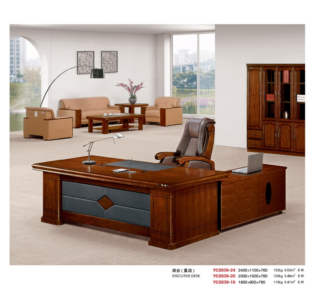 High Quality Office Desk: High Quality Best Price Steel Office Desk Hdf Wood Factory